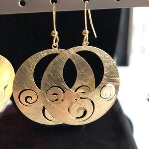Merx Jewelry - Round Earrings